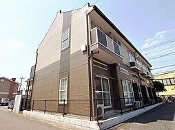 埼玉県越谷市宮本町3の賃貸アパートの外観