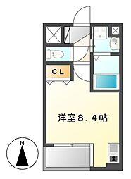アルバ則武新町[4階]の間取り