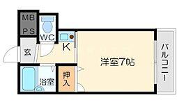 ロイヤルアメニティ[5階]の間取り