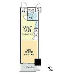 ライオンズマンション板橋[7階]の間取り