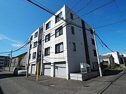 北海道札幌市東区北10条東の賃貸マンションの外観