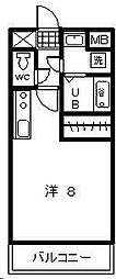 T・Yマンション2[503号室]の間取り