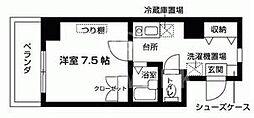 富士ラビット七条館[1002号室号室]の間取り