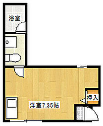 パインヒル篠崎[2階]の間取り