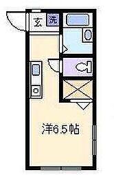 オークラレジデンス横浜新子安[103号室]の間取り