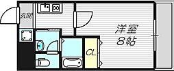 ルミエール新大阪[8階]の間取り