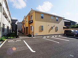 千葉県松戸市六実1丁目の賃貸アパートの外観