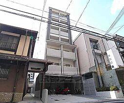 京都府京都市下京区油小路通松原上る麓町の賃貸マンションの外観