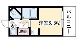 愛知県名古屋市天白区塩釜口1丁目の賃貸マンションの間取り
