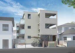 神奈川県川崎市幸区東古市場の賃貸マンションの外観