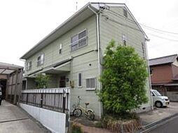 松田コーポ[2階]の外観