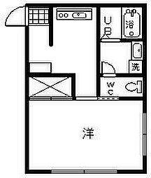 ポテトハウス7[2号室]の間取り
