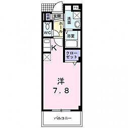T・コート21[3階]の間取り