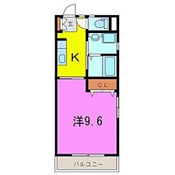 ソフィア21[401号室]の間取り