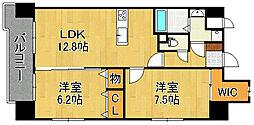 ADVANCE128[1階]の間取り