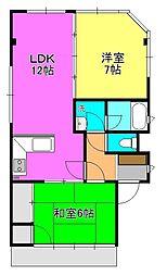 Casa Lin[3階]の間取り