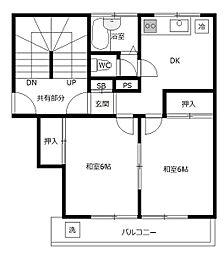 第1池田マンション[4階]の間取り