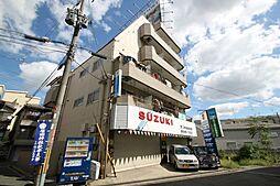 大阪府豊中市宝山町の賃貸アパートの外観