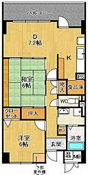 チトセプラザ[1階]の間取り