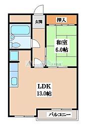 くさかマンション[3階]の間取り