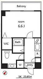 サンテラス南池袋[6階]の間取り