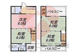 堺市東区日置荘田中町戸建 1階3DKの間取り