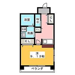 さるびあ牛田[2階]の間取り