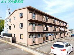三重県桑名市新西方3丁目の賃貸マンションの外観