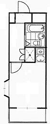 クレッセント三軒茶屋[2階]の間取り