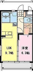 (仮称)永楽町マンション[101号室]の間取り