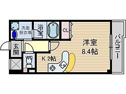 グランエスポワール[5階]の間取り