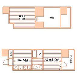 Grand E'terna 岡山III[14階]の間取り