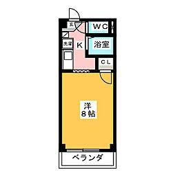 サープラス石田[1階]の間取り