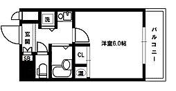 CityLifeディナスティ新大阪[9階]の間取り