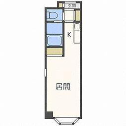 ハートランド豊平[2階]の間取り