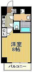 カインド四貫島[7階]の間取り