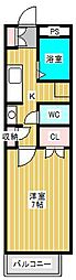 ヒューマンパレス新松戸I[3階]の間取り