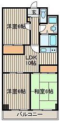 シャネレードMK[4階]の間取り