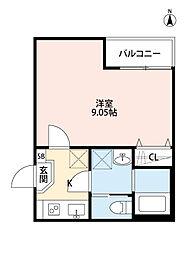 T.A江戸川区中葛西7丁目[3階]の間取り