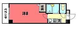 第1みやぎビル[318号室号室]の間取り