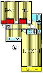 ラフィーヌショコラ[3階]の間取り