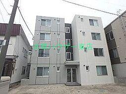 北海道札幌市東区北十六条東18丁目の賃貸マンションの外観