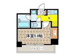 メゾン・ド・ピュア府中[12階]の間取り