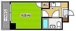 K&K俵ビル10号館[4階]の間取り
