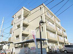 滋賀県湖南市石部中央4丁目の賃貸マンションの外観