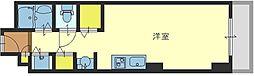 大阪府大阪市西区江之子島1丁目の賃貸マンションの間取り