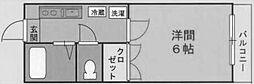 ▲第1NKハイツ[2階]の間取り