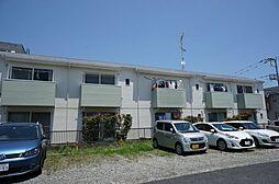 レインボーハイツ湘南[206号室]の外観