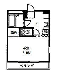 尚栄マンション[3階]の間取り