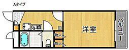 レオパレスSOTTO VOCE[1階]の間取り